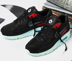 half off 23c0c 0719a Details about Nike Air Max 90 PRM Vinyl Mixtape Black Cool Grey Teal Tint  UK 7-11 EUR 41-46
