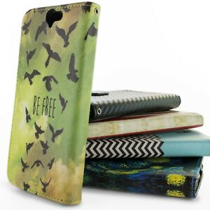 For-HTC-One-A9-Case-Flip-Wallet-Pouch-Design-Phone-Cover-Screen-Protector