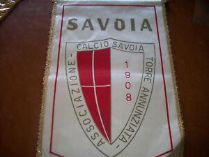 bellissimo gagliardetto del savoia 70° anniversario wimpel pennant fanion - Italia - bellissimo gagliardetto del savoia 70° anniversario wimpel pennant fanion - Italia