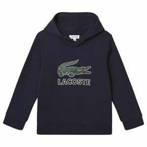 Lacoste-Juniors-Croco-Logo-Sweat-a-capuche-BLEU-marine