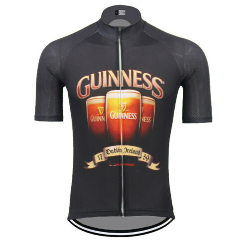 Cycling Short Sleeve Jersey Ireland Guinness Beer Cycling Jersey