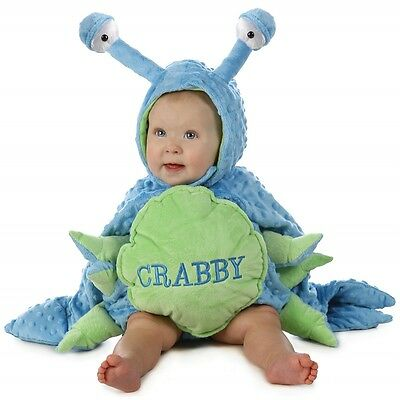 Baby Crab Costume Toddler Boys Crabby Halloween Fancy Dress