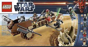 Details about LEGO 9496 Star Wars Desert Skiff Sarlacc Boba Fett Lando Luke  Skywalker