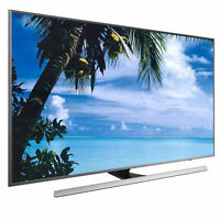 Samsung Un85ju7100 85-inch 4k Ultra Hd Smart Led Tv Blu-ray Bundle on sale