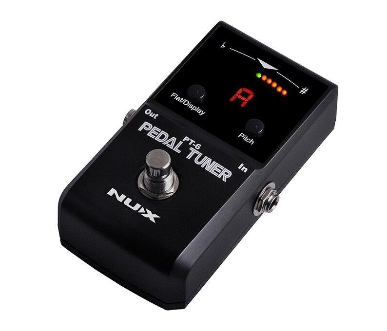 NUX PT-6 - Accordatore Cromatico a Pedale