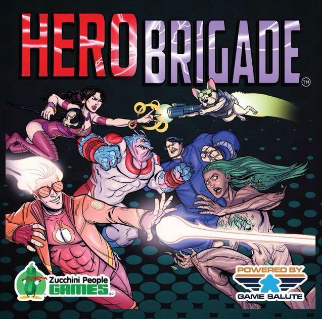 Hero Brigade Board Game par Game Salute
