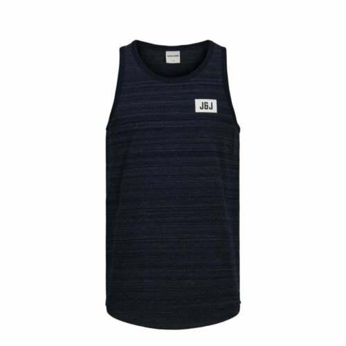 Jack /& Jones Mens New Designer Printed Regular Fit Ocean Tank Vests BNWT