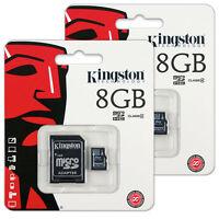 Kingston Class 4 - MicroSDHC Card - (SDC4/8GBCR)