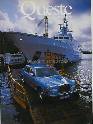 100% Waar Queste Issue Three - Rolls Royce - Devon Copper - Cheshire Cheese - 1985 Aantrekkelijk Uiterlijk