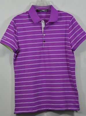 2b42800da3 Women's Ralph Lauren RLX Golf, Striped Ultra Air Flow Jersey Polo. Sz S,  $89.50 | eBay