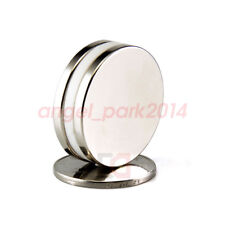 5 50pcs Super Strong Round Magnets 30mm X 3 Mm Disc Rare Earth Neo Neodymium N50