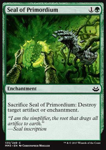 MAGIC MMA3 MTG 4x SEAL OF PRIMORDIUM SIGILLO DEI PRIMORDI