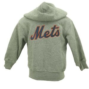 watch 5e57f 2a668 Details about New York Mets Girls Baby MLB Infant Toddler Size Zip Up  Hooded Sweatshirt New