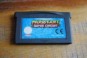 Jeu-MARIO-KART-SUPER-CIRCUIT-sur-Nintendo-Game-boy-Advance-GBA