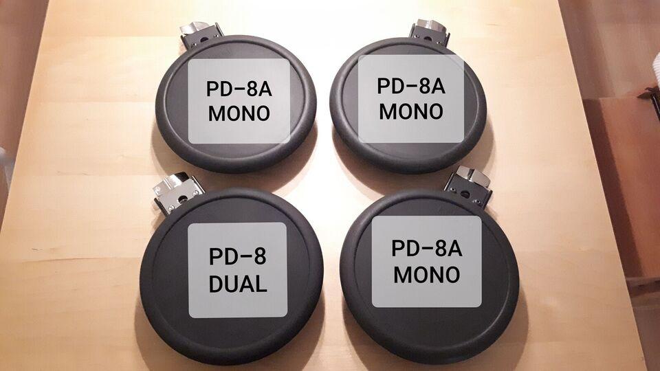 Elektronisk slagtøj, Roland PD-8 og PD-8A