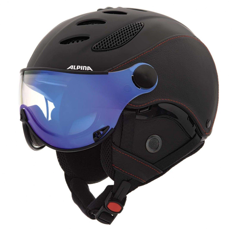 Alpina Jump JV Exclusive Skihelm - schwarz schwarz
