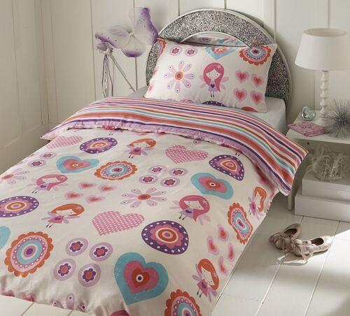 Fairies Duvet Cover 50/% Cotton Girl/'s Children/'s Bedding