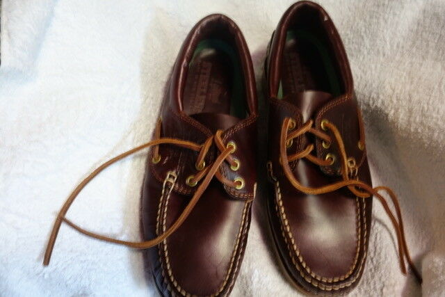 Mens Leather Loafer High Quality Steelers Brown Size 10.5 UK/Australia/11 USA