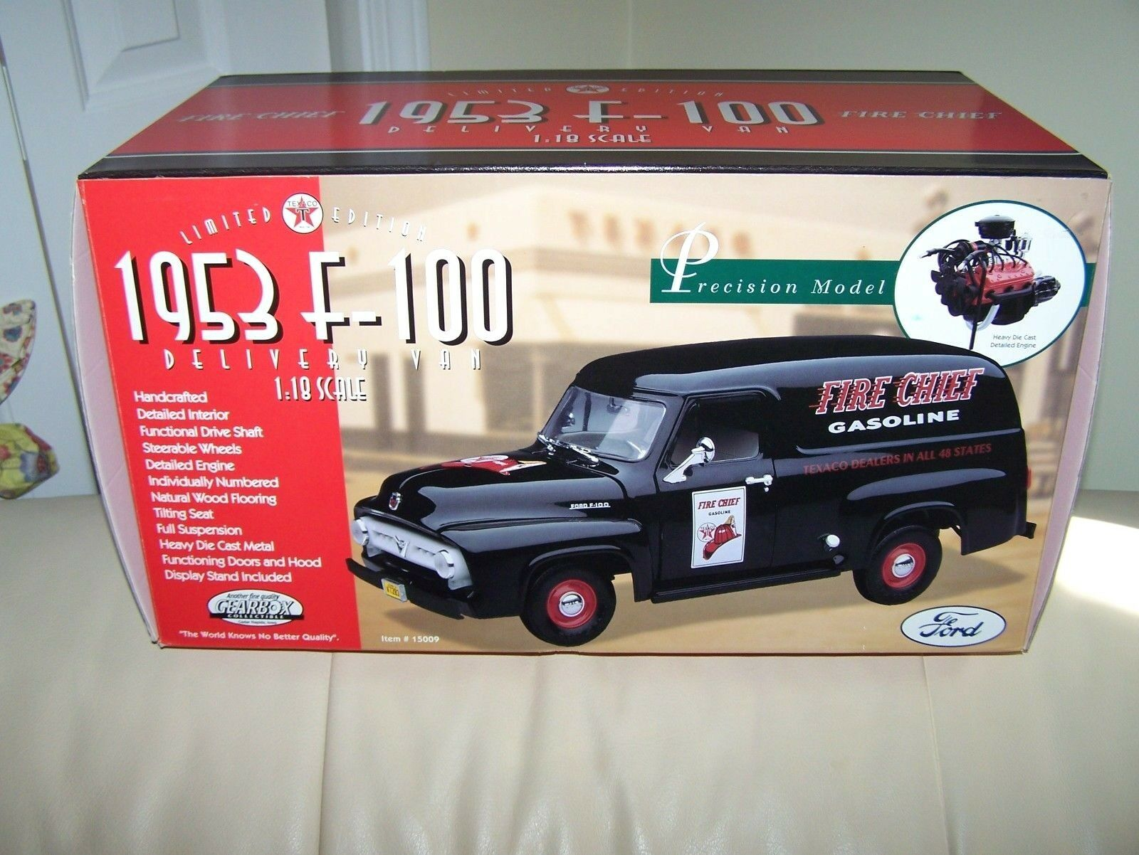 Texaco - getriebe - 1953 f-100 lieferwagen -   15009 - nie entfernt von box-mib