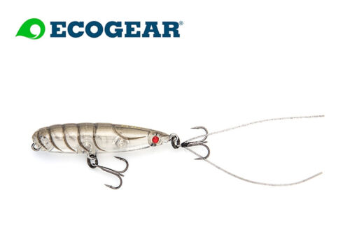 ECOGEAR PX 45F  TopWaterbait  Japanwobbler Barsch Hecht Forelle Natural Shrimp