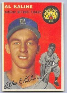 1954-AL-KALINE-Topps-034-REPRINT-034-Baseball-Card-201-DETROIT-TIGERS