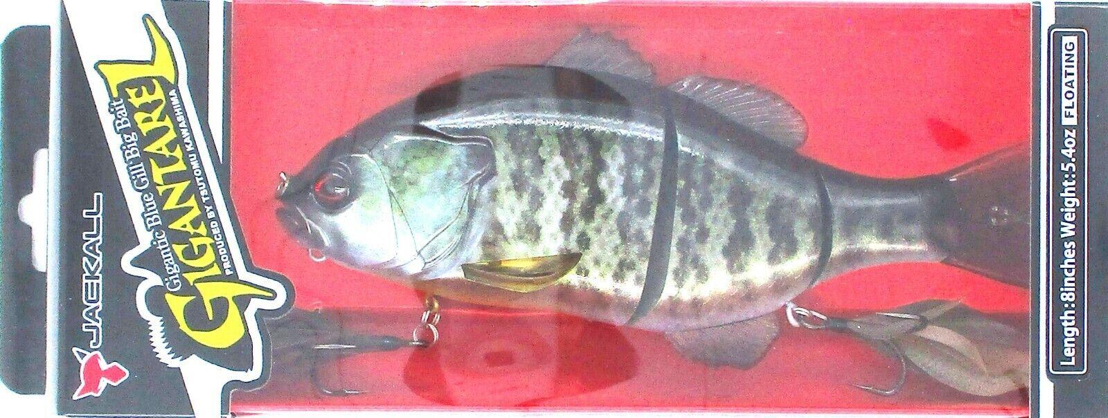 Jackall Gigantarel Hard Body Swimbait Fishing Lures 8 inch Bass Lure BRAND NEW @