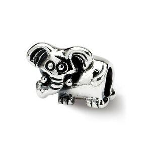 Elefant Kinder Perlen .925 Sterlingsilber Antik Veredlung
