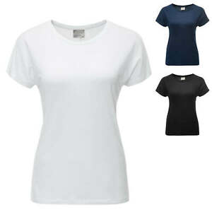 Vero Moda Damen T-Shirt Damenshirt Kurzarmshirt Shirt Top Basic Unifarben SALE %