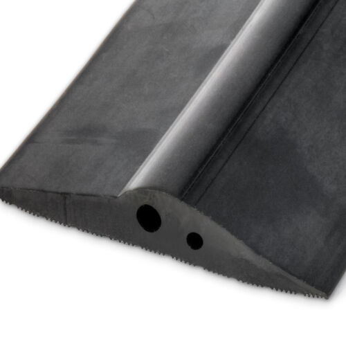 2,5m CAOUTCHOUC JOINT DE PORTE DE GARAGE seuil contre intempéries 115mm x 21mm
