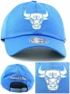 Chicago Bulls New Mitchell   Ness Leather Blue Women Ladies Era 47 ... a7e9eeca1