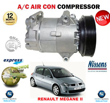 FOR RENAULT MEGANE II HATCHBACK 2002- 2008 AIR CON COMPRESSOR ** OE QUALITY **