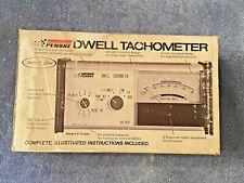 Vintage Sears Penske 21013 Vintage Dwell Tachometer Professional Withbox Amp Manual