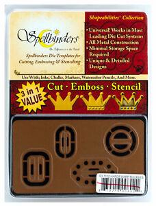 Spellbinders-Shapeabilities-Hardware-Buckles-Die-Cut-Emboss-amp-Stencil-Set