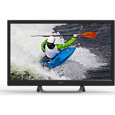 "SEIKI SE24HO01UK Smart 24"" LED TV HD Ready 720p Black HDMI Freeview"