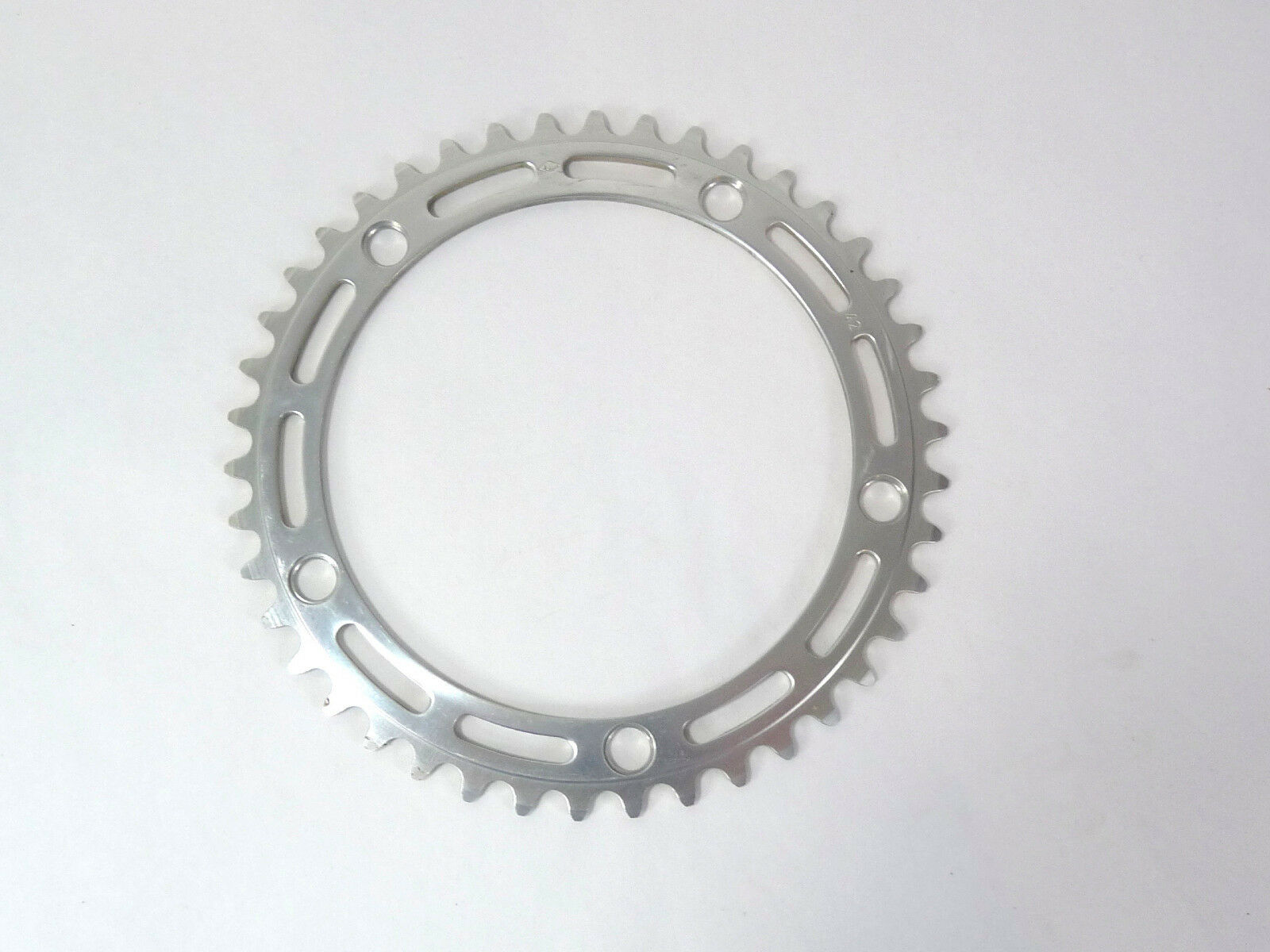 Campagnolo Nuovo Record Chainring 42T Road 144 Bcd 3 32  Vintage Bicycle NOS