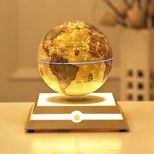 Magnetic floating levitation globe star constellation world map image is loading magnetic floating levitation globe amp star constellation world gumiabroncs Image collections