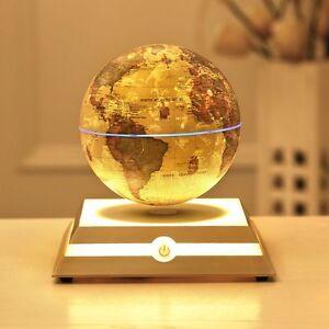 Magnetic floating levitation globe star constellation world map image is loading magnetic floating levitation globe amp star constellation world gumiabroncs Images
