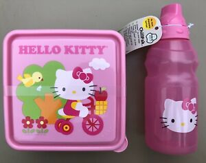 Zak 16oz Chillpak Hello Kitty Pink Water Bottle Amp Sandwich