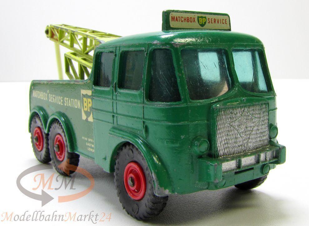 promociones de equipo Matchbox king Talla nº 12 12 12 kranwagen verde bp Foden breakdown tractor scale 1 43  toma
