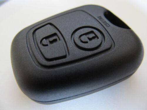 12 Peugeot 107 207 307 407 remote key fob compatible étui 2 boutons