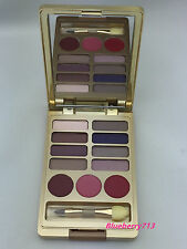 New! Estee Lauder Lisa Perry Eye Shadow 8 Shade/ 3 lipstick in Gold Palette Case