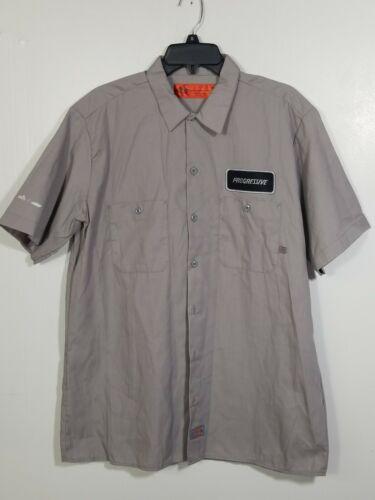 Progressive Insurance Dickie Shirt Patch Large Gra