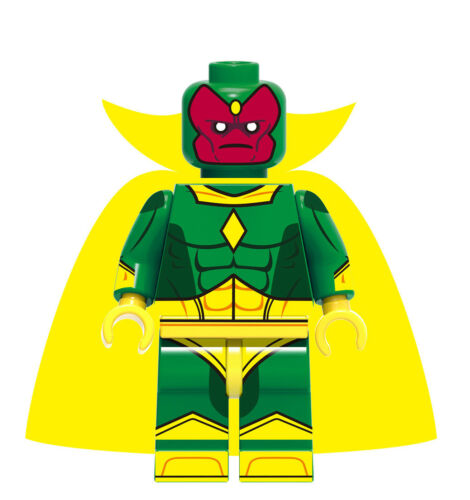 █ Buy 2 Get 1 Free █ Vision Avengers Custom Mini Figure Blocks X0173 712