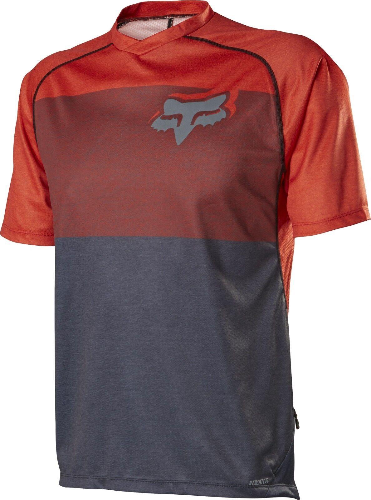 Fox  Racing 2015 indicador S s Camiseta Naranja  para mayoristas