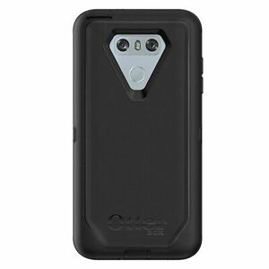 reputable site ce6c1 51c6e OtterBox 77-55417 Defender Carrying Case for LG G6 - Black