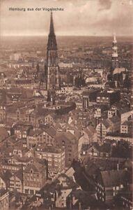 Hamburg aus der Vogelschau gl1931 159.383
