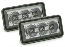 SMOKED LED SIDE REPEATERS INDICATORS FOR VW GOLF 3 MK3 MK 3 III VENTO PASSAT 35i