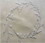 New-50Pcs-Acrylic-Drops-Crystal-Bead-Spray-Wired-Stems-Wedding-Craft-Decor thumbnail 2