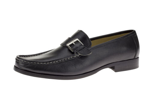 DTI BB Signature Metero Mens Leather Shoes Handmade Slip-On Dress Loafer