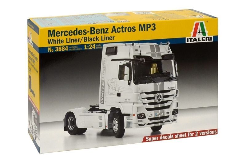 ITALERI 1 24 KIT CAMION MERCEDES BENZ ACTROS ACTROS ACTROS MP3 ART. 3884 89e196